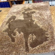 UW Cowboy Joe Custom Rug