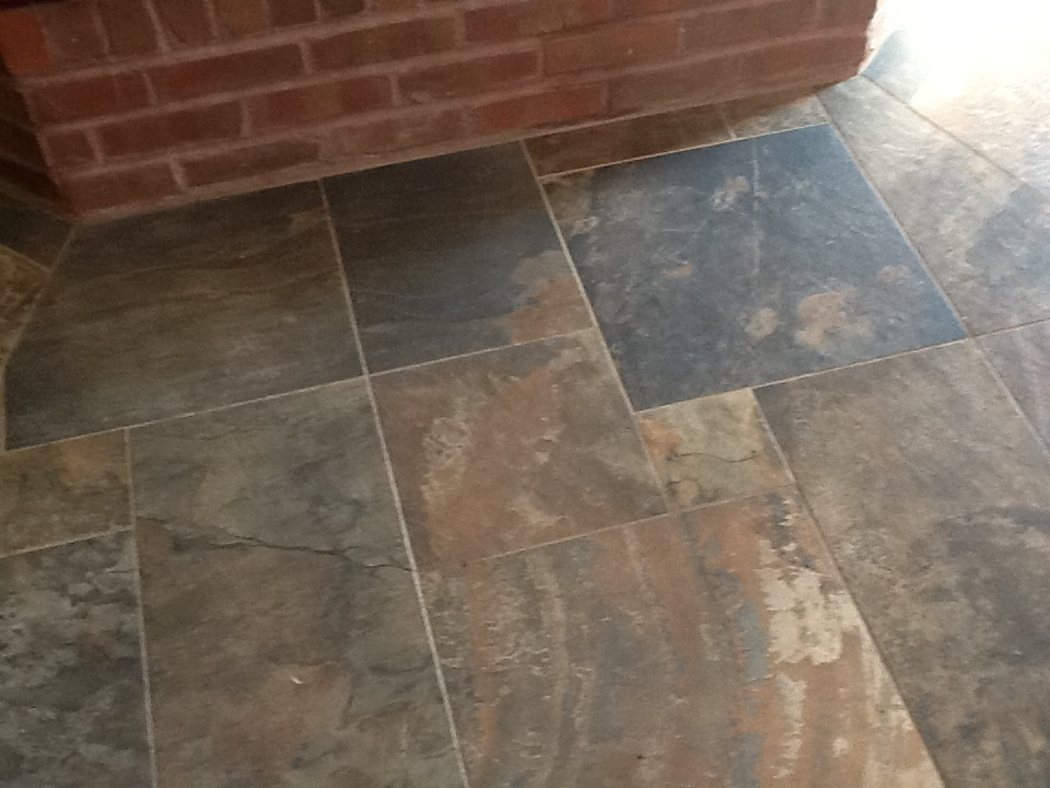 Pinwheel Tile Transition Kaiser Flooring